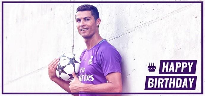 Cristiano Ronaldo aniversário Real Madrid