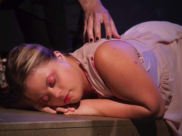 Tathiana Piancastelli, atriz com síndrome de Down. (Foto: Luvich Photografy)