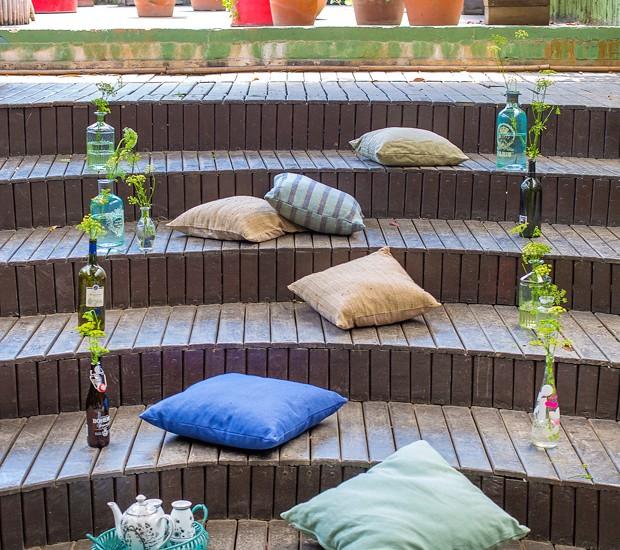 Escada lounge (Foto: Rogério Voltan)