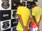 Dupla é presa suspeita de matar jovem por rixa entre gangues em Goiânia