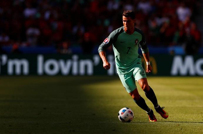 Cristiano Ronaldo Portugal x Hungria (Foto: Reuters)