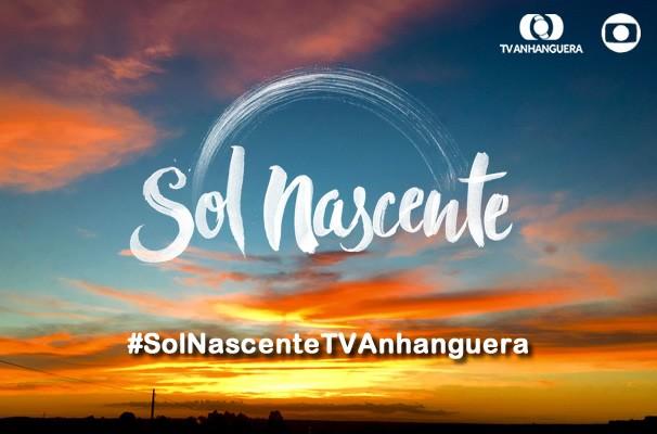 Registre o nascer do sol e apareça nas redes sociais da TV Anhanguera. (Foto: Divulgação / TV Anhanguera)
