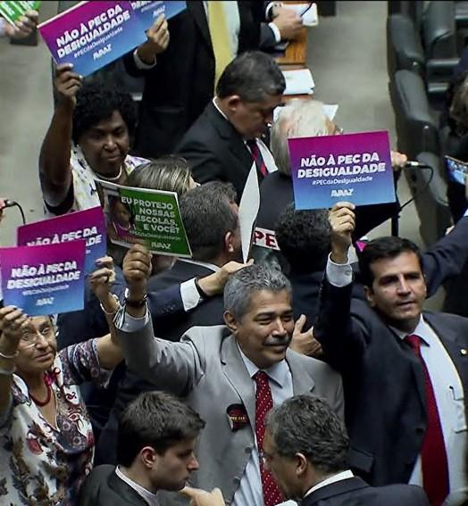emenda à Constituição (TV Globo)