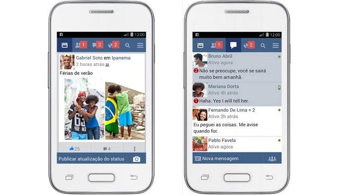 Facebook Lite: versão 'leve' do app para celulares antigos
