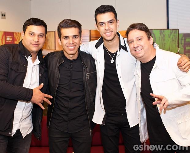 Luan e Forró Estilizado já tem lugar garantido na Final do SuperStar (Foto: Dafne Bastos / TV Globo)