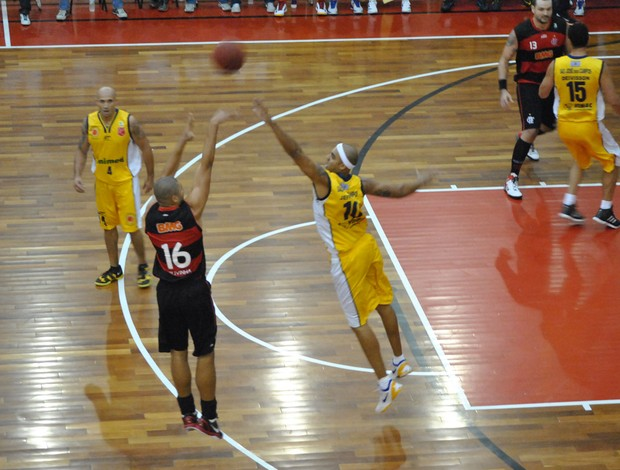 Basquete Flamengo x S&#227;o Jos&#233; (Foto: Jo&#227;o Gabriel)