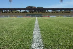 Estádio Passo das Emas, Luverdense (Foto: Assessoria/Luverdense Esporte Clube)