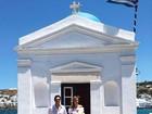 Modelo Ana Beatriz Barros se casa na Grécia com presença de famosos
