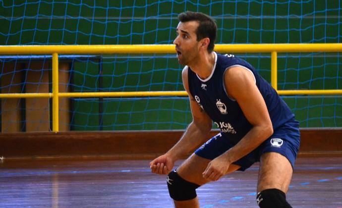 Mário Júnior São José Vôlei (Foto: Felipe Kyoshy/GloboEsporte.com)
