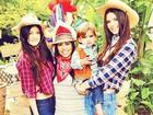 Veja foto do arquivo de família de Kim Kardashian