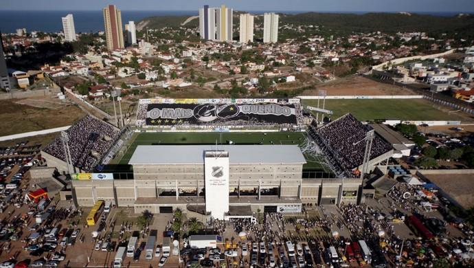 Estádio Frasqueirão - ABC (Foto: Demis Roussos)