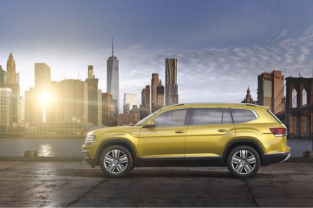 Novo Volkswagen Atlas (Foto: Divulgação)