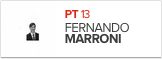Fernando Marroni, PT, candidato de Pelotas (Foto: Arte G1)