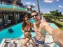 Mari Gonzalez e Jonas Sulzbach curtem resort 5 estrelas no Ceará