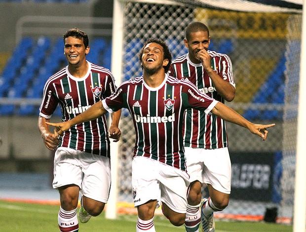Wellington Nem comemora gol do Fluminense contra o Olaria (Foto: Nelson Perez / Fluminense. F.C.)