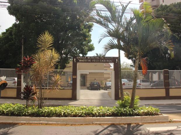 Escola Fêgo Camargo em Taubaté (Foto: Divulgação/Prefeitura de Taubaté)