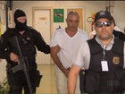 Ex-deputado preso acusado de agredir a ex-noiva chega a Curitiba