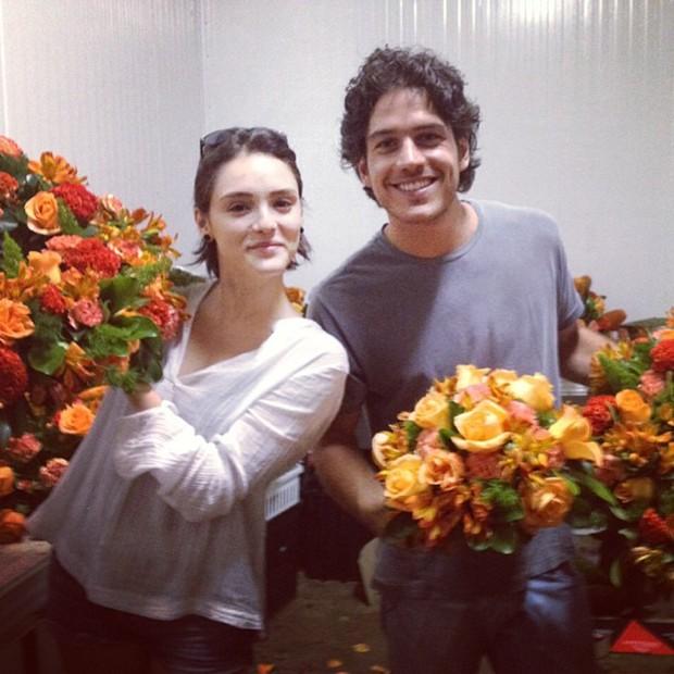 Isabelle Drummond e Marco Pigossi (Foto: Instagram / Reprodução)