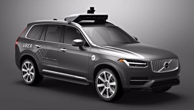 O Uber autônomo (Foto: Reprodução/Uber)