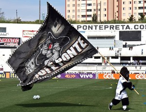 Gorilão, mascote Ponte Preta, Majestoso (Foto: Fabio Leoni/PontePress)