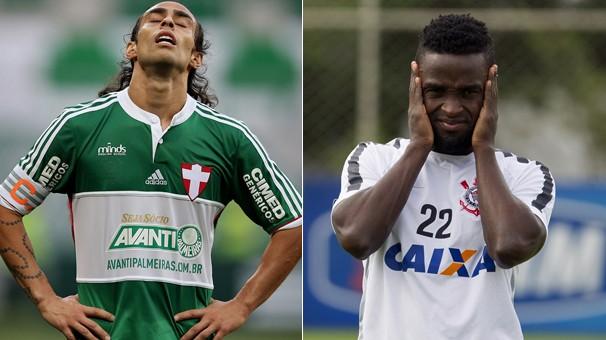 Pelo Campeonato Paulista, tem Palmeiras x Corinthians neste domingo, dia 8, Arena Palmeiras (Foto: globoesporte.com)