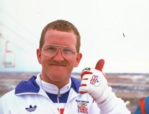 ex-esquiador britânico Eddie Edwards (Foto: Gray Mortimore / Agência Getty Images)