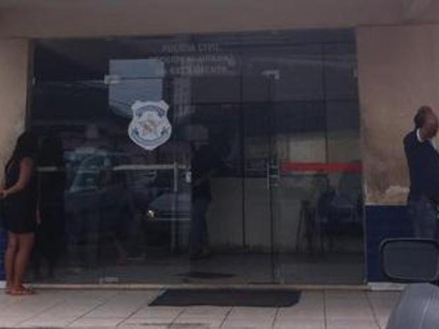 Suspeito de pedofelia é preso na Seccional Urbana da Sacramenta, em Belém. (Foto: Ascom/PC)