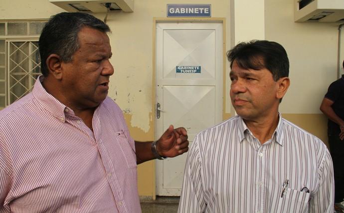 José Amâncio da Mota, o Madrugada, e Leocy Marinho de Sá (Foto: Divulgação/Funesp)