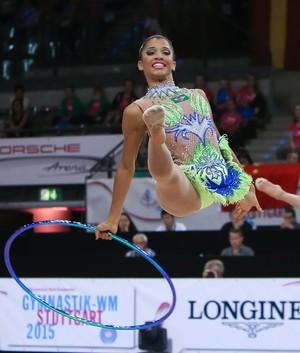 Conjunto brasil Mundial de ginástica rítmica Stuttgart - Francielly Machado (Foto: Ricardo Bufolin / CBG)
