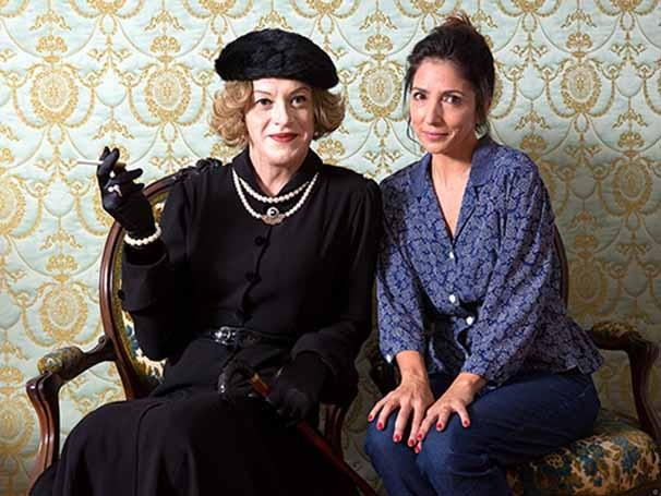 Trama é baseada no livro 'Me and Jezebel' de Elizabeth Fuller, fã que hospedou a atriz Bette Davis (Foto: João Caldas)