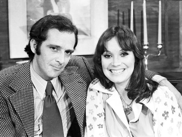 Claudio Marzo e Regina Duarte em Carinhoso (Foto: CEDOC / TV Globo)