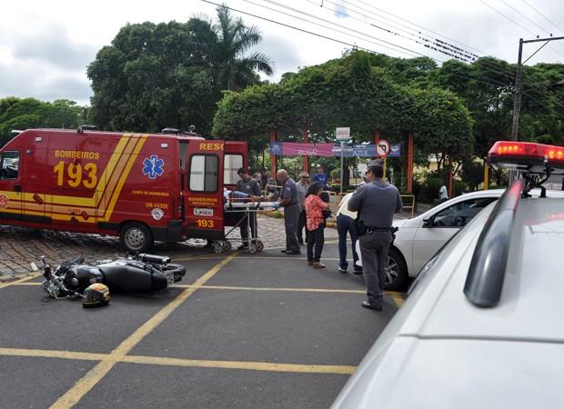 Acidente foi na manhã desta sexta-feira (6) (Foto: Ricardo Torquato/Cedida)
