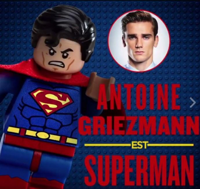 Griezmann filme Batman