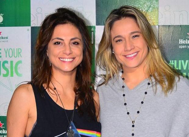 Priscila Montandon e Fernanda Gentil (Foto: William Oda / AgNews)
