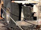 Carreta carregada com etanol pega fogo após pneu estourar