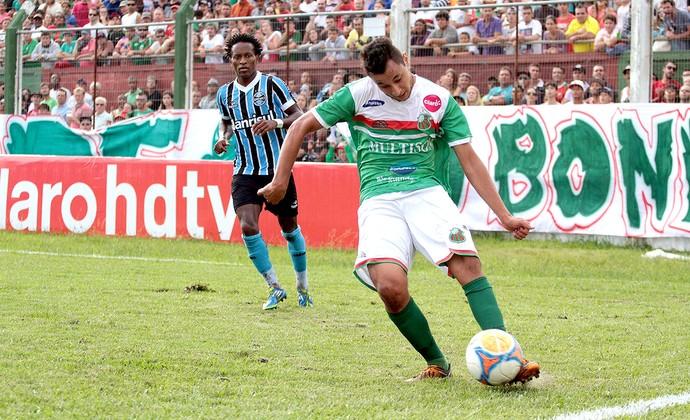 Zé Roberto jogo Grêmio e São Paulo-RS (Foto: Guga VW / Futura Press)