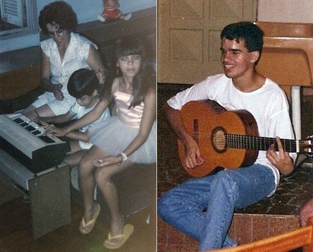 Edu Camargo descobriu a paixão pela música desde pequeno (Foto: Arquivo Pessoal)