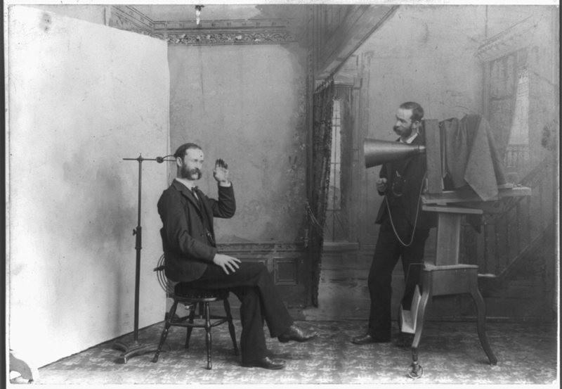 Não era fácil tirar uma fotografia no século 19. (Foto:  LIBRARY OF CONGRESS/ LC-USZ62-19393)