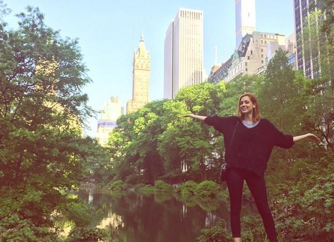 Sophia Abrahão dá dicas de como curtir NY (Foto: Arquivo Pessoal)