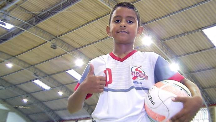 Josué Foguetinho futsal (Foto: Reprodução)