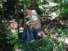 Cerca de 1 t de lixo é recolhida em parque e evita reprodução do Aedes