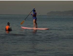 Stand up paddle Santos (Foto: Divulgação / Prefeitura de Santos)