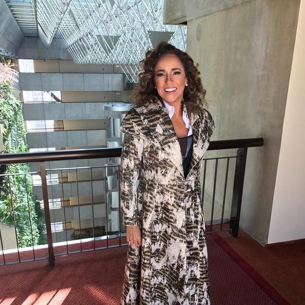 Daniela Mercury antes de chegar ao evento (Foto: Reprodução/Instagram)