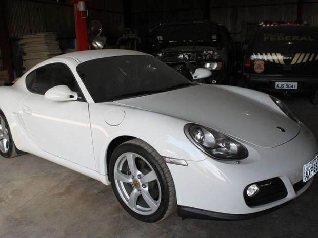 Porsche Cayman de Nelma Kodama tem preço mínimo de R$ 200 mil em leilão (Foto: Divulgação)