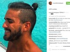 André Marques mostra novo visual e fãs dizem: 'Estilo Wesley Safadão'