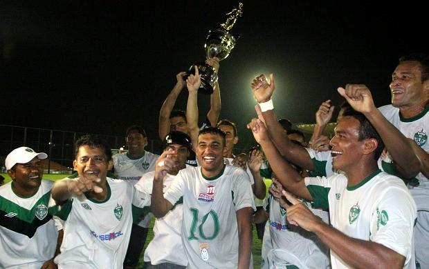 Manaus FC campeão da Série B Amazonense (Foto: Isabella Pina)