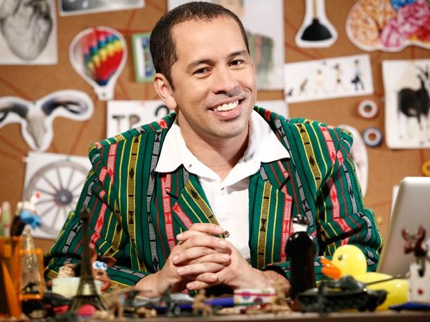 Edmilson Filho será Major, o gênio cearense que vive dentro da Internet (Foto: Fábio Rocha / TV Globo)