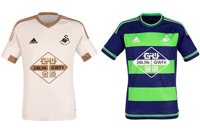 Camisas Swansea City