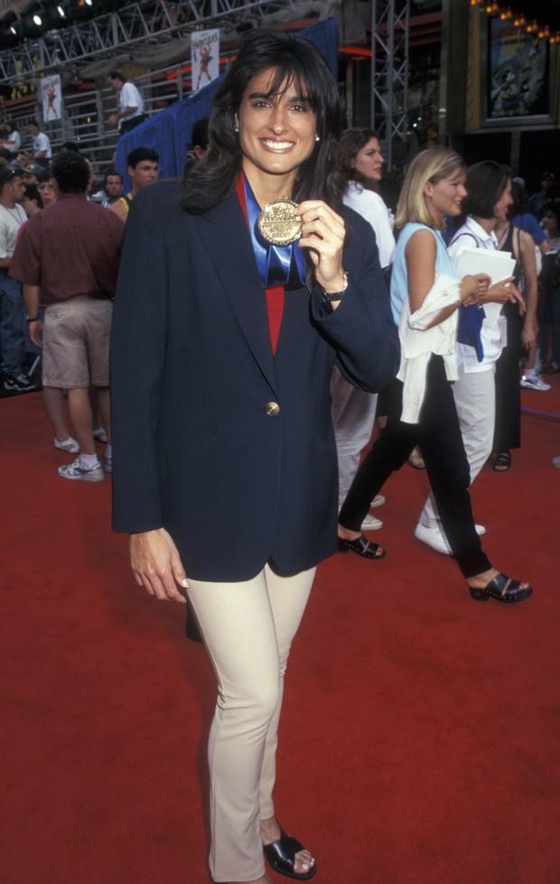 Gabriela Sabatini em 1997 (Foto: Getty Images)