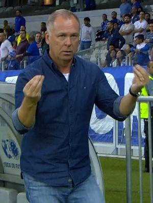 Mano Menezes, treinador do Cruzeiro (Foto: Reprodução/Sportv)
